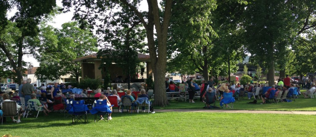 music in the park june 30