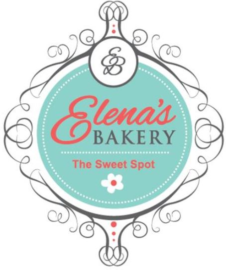 Business logo for Elena's Bakery
